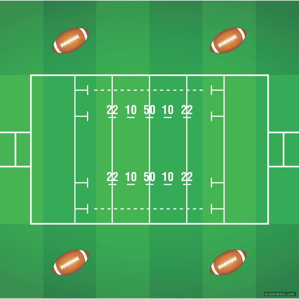 realistic printable blank football playbook sheets