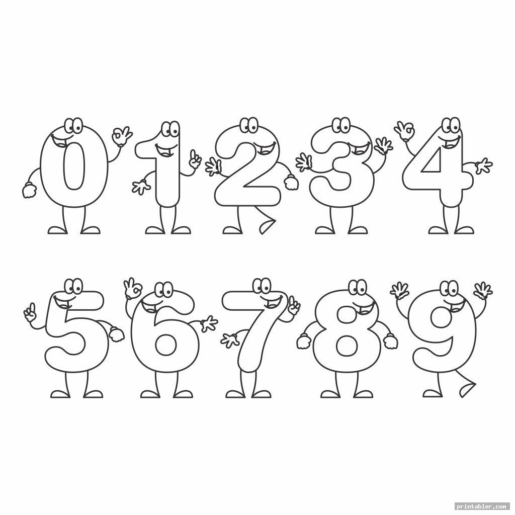 bubble numbers 1 10 printable image free