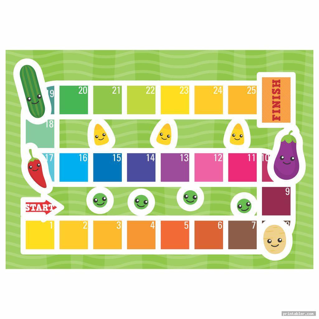 Candyland Board Printable