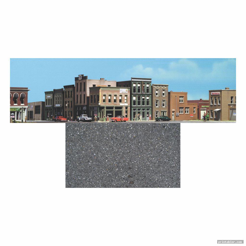 city diorama backgrounds printable