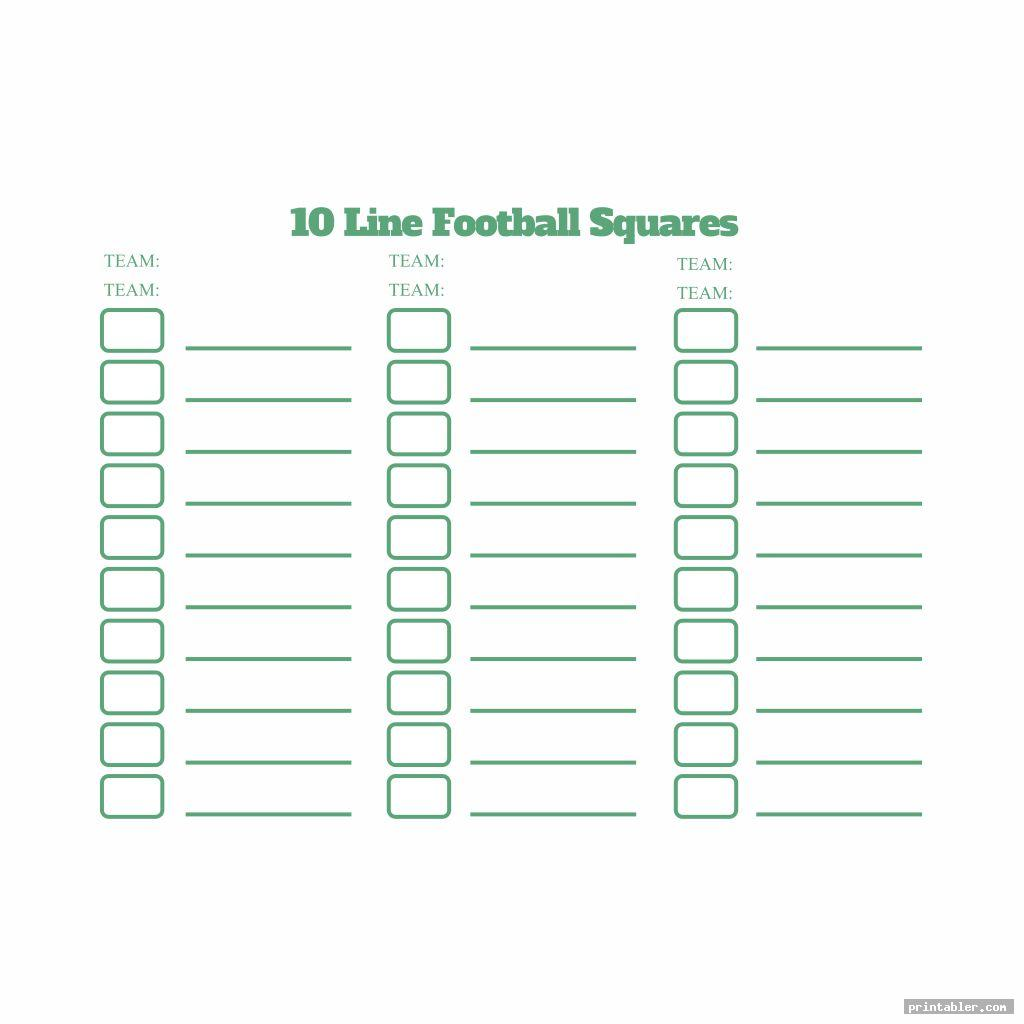 colorful blank football play sheet printable