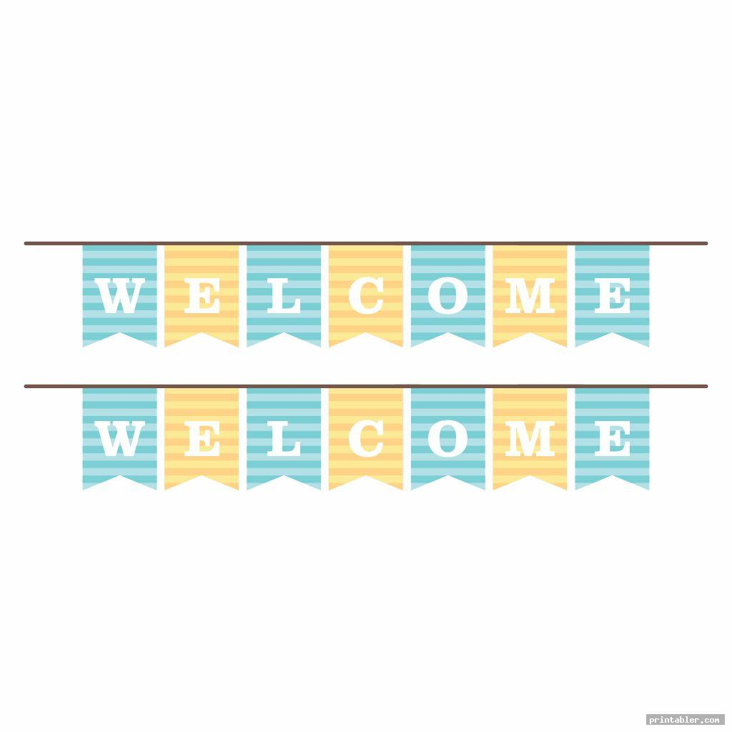 colorful college pennants template printable