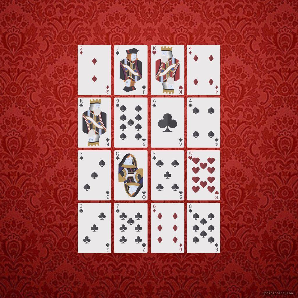 colorful printable pokeno game cards