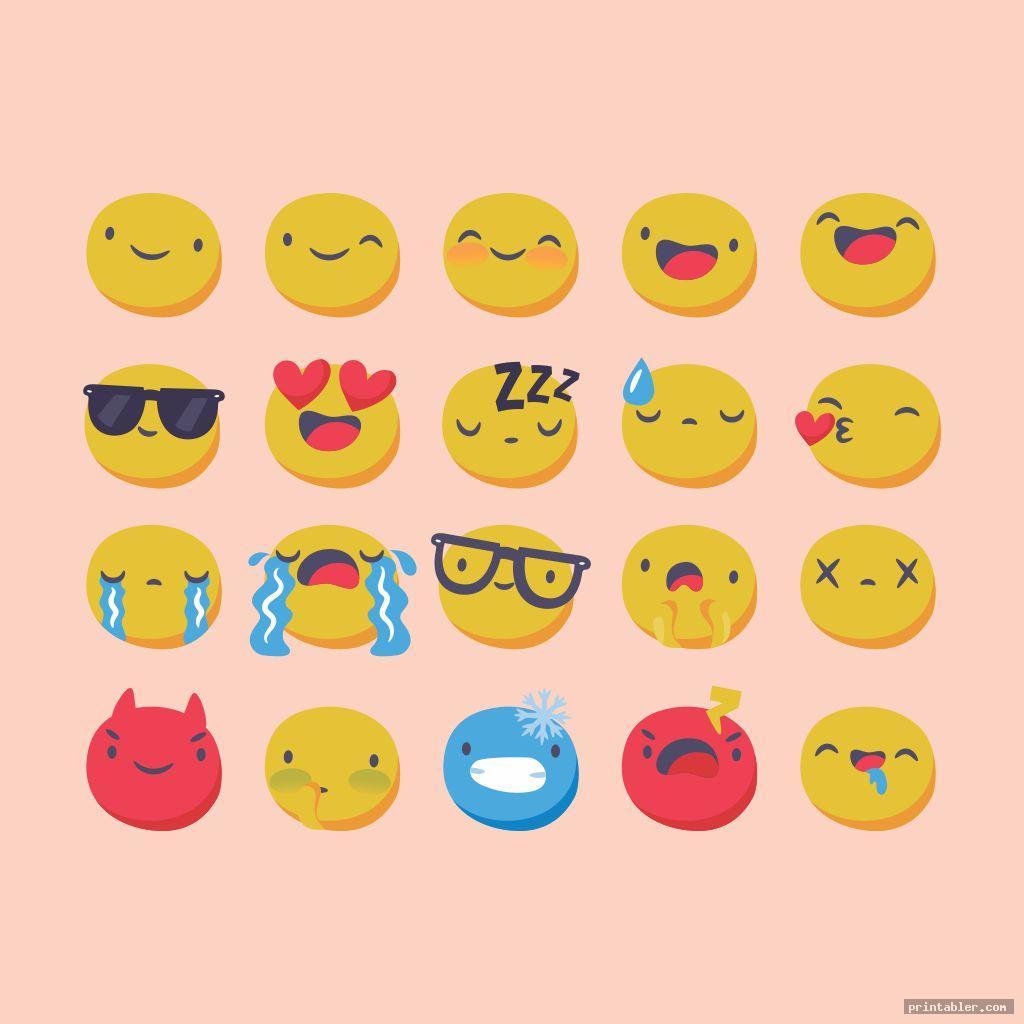 cool simple feelings chart printable