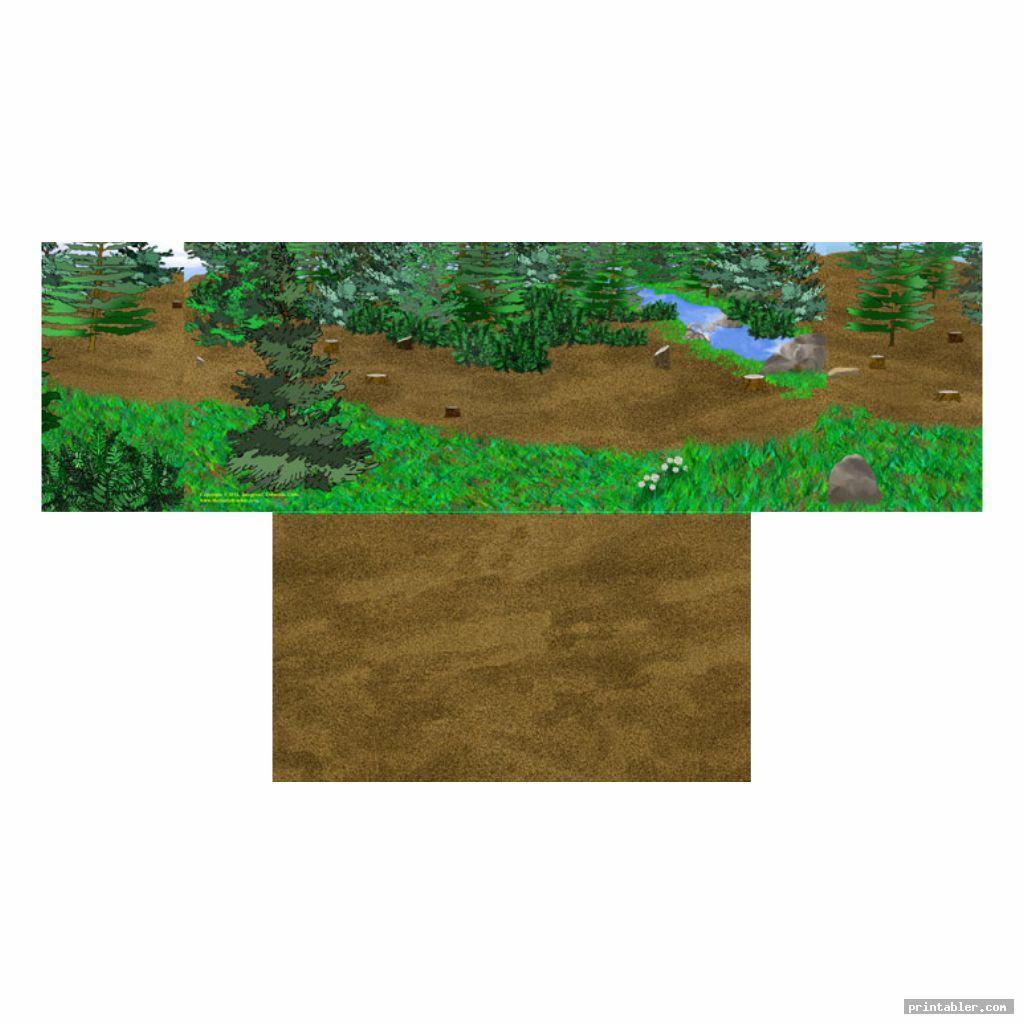 diorama backgrounds printable image free