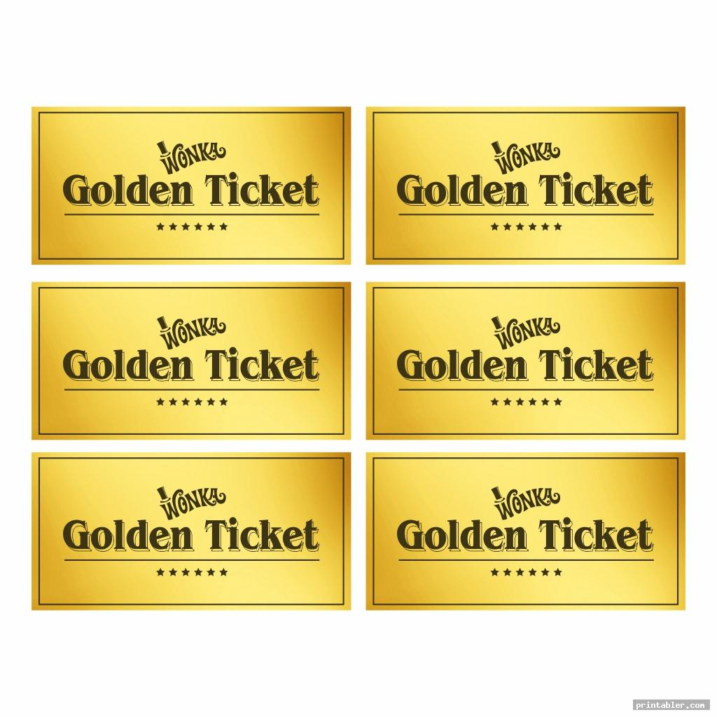 It is an image of Inventive Willy Wonka Golden Ticket Printable