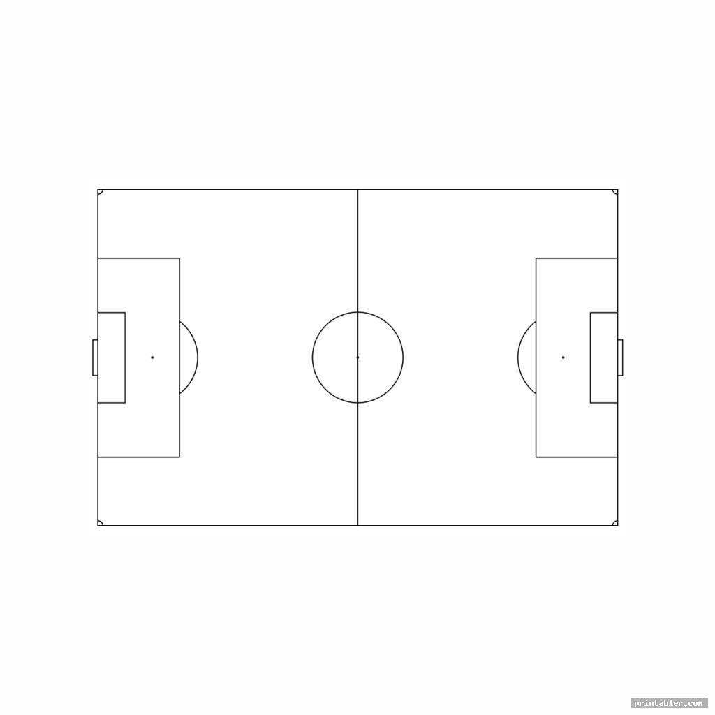 football field diagram printable image free
