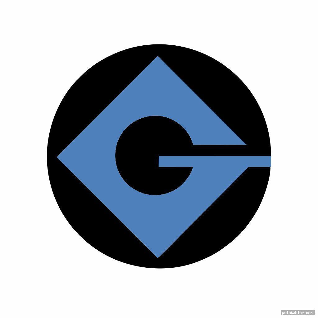 g minion logo printableimage free