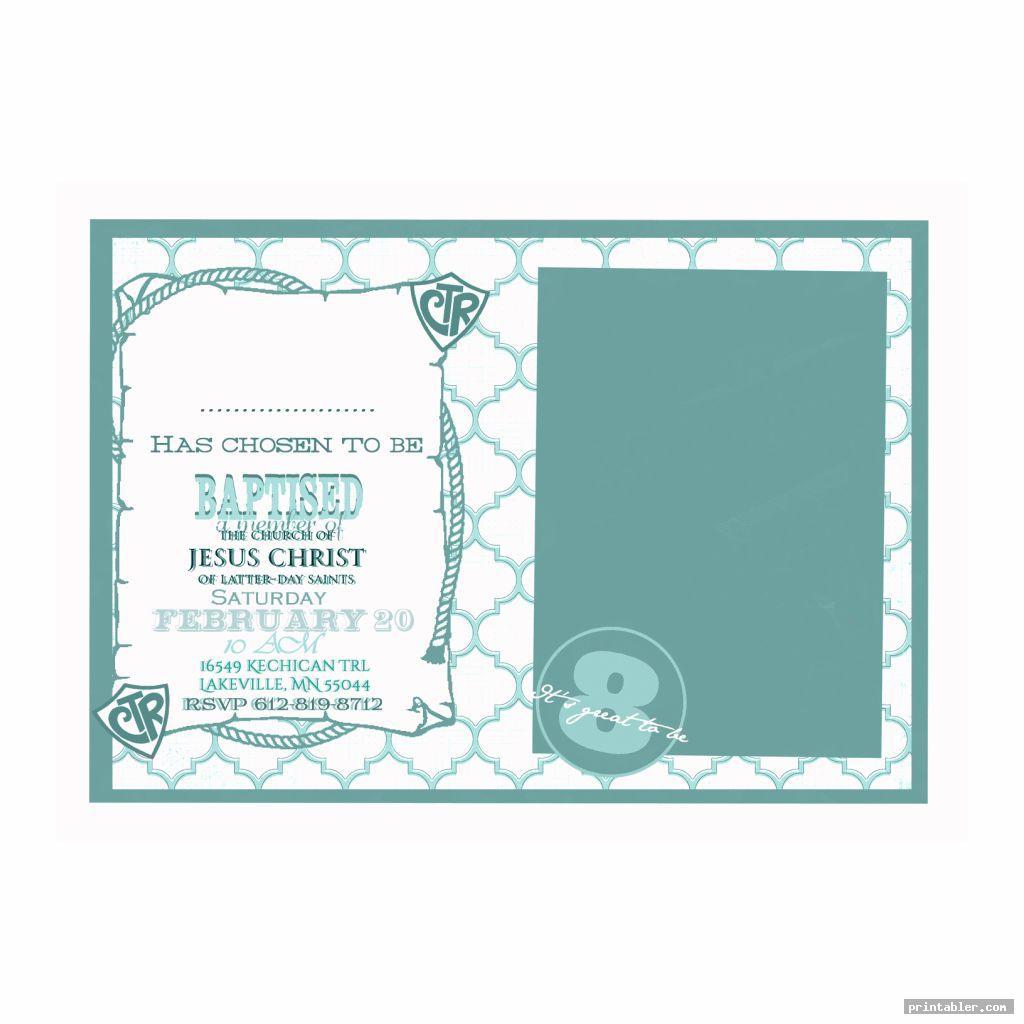 lds baptism program template printable image free