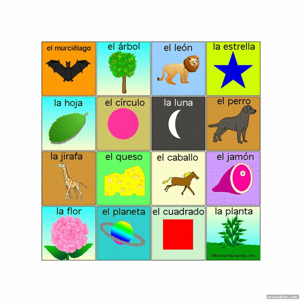Loteria Cards Printable