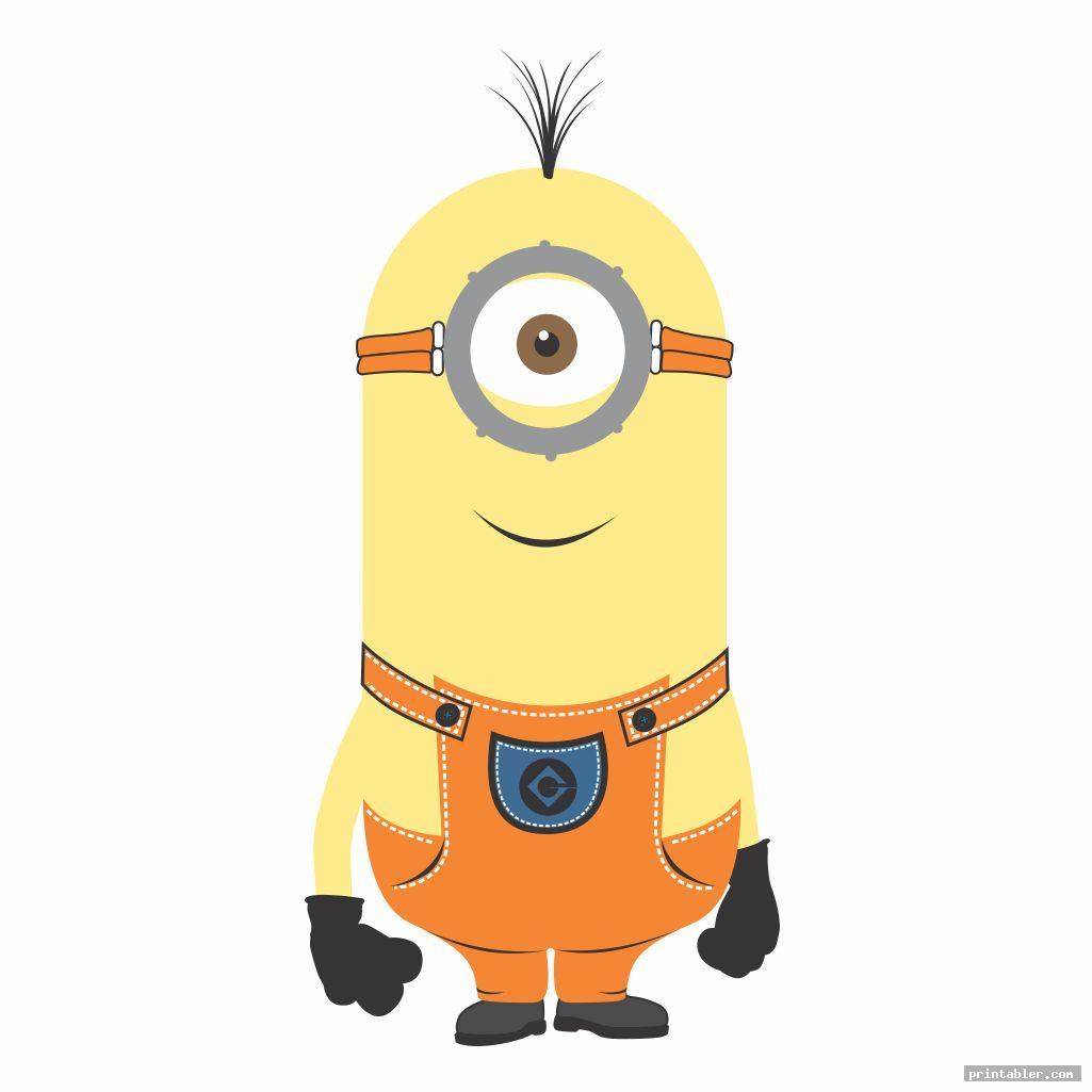 minion images printable for use