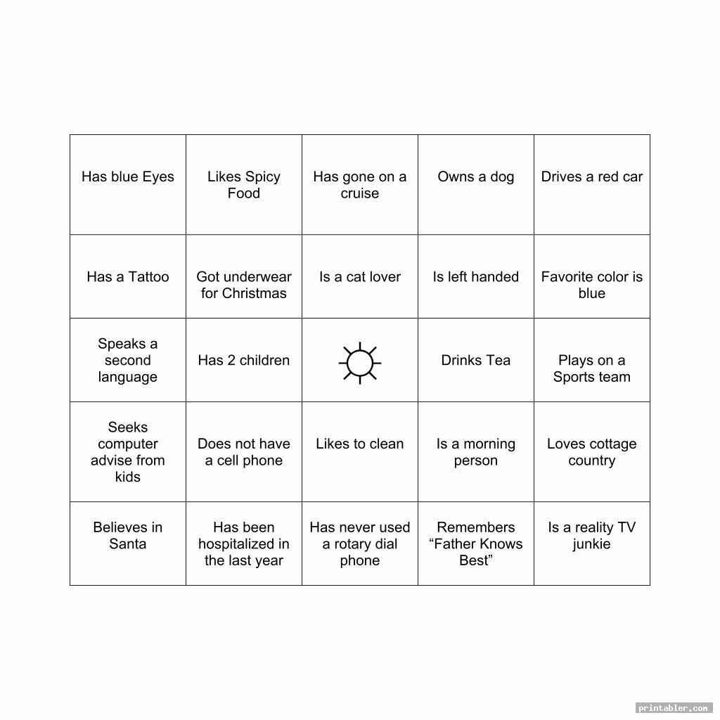 office bingo template printable for use