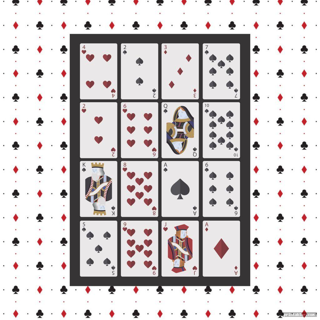 Pokeno Game Cards Designs Printable Printabler Com