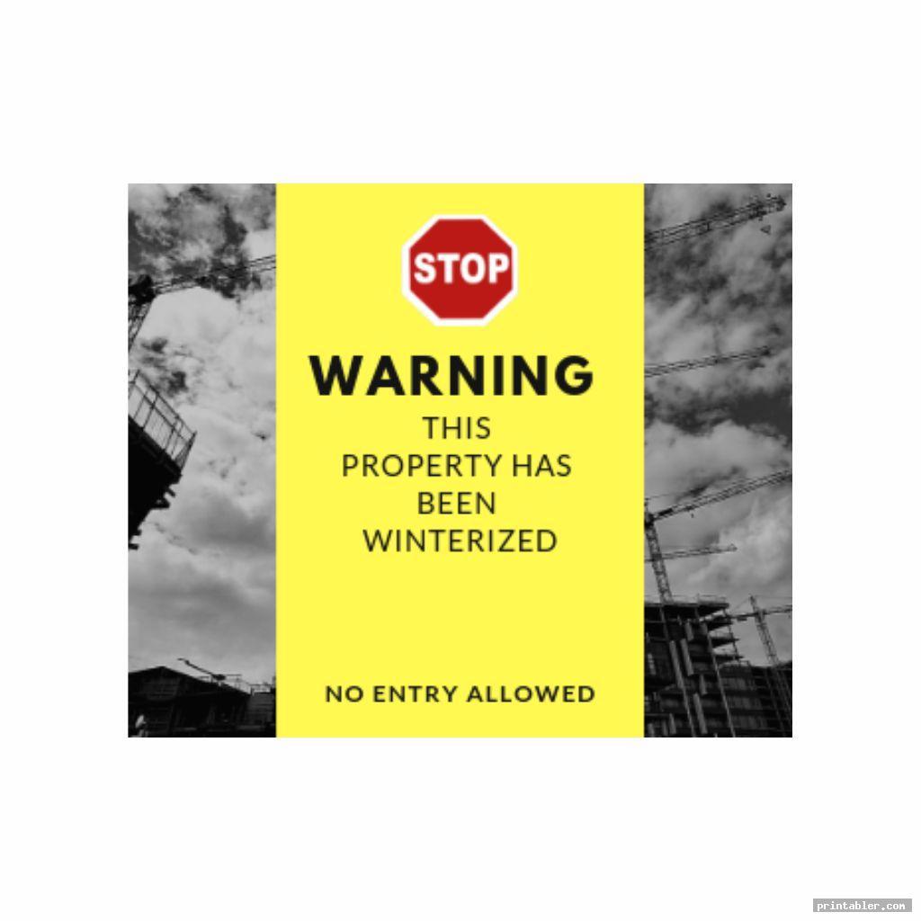 Winterization Stickers Printable