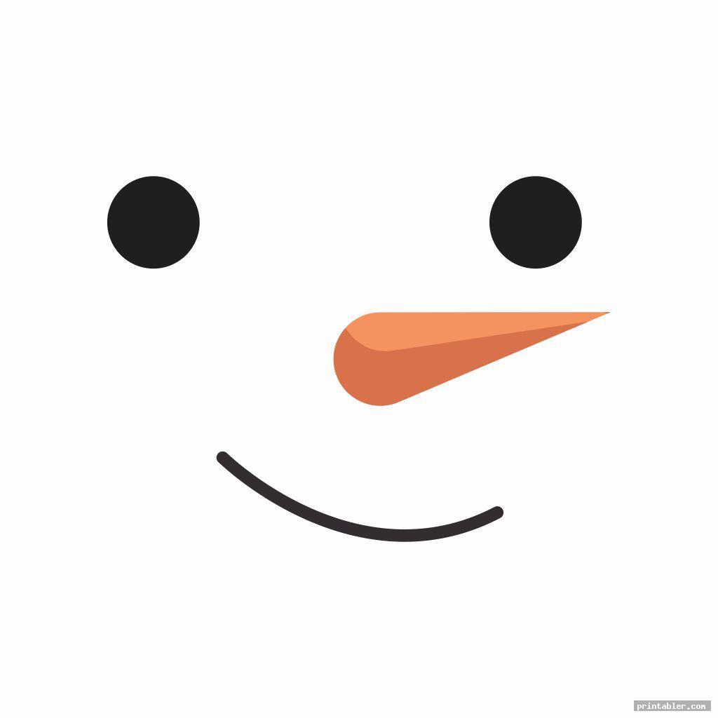 photo regarding Printable Eyes Template identify Snowman Eyes Template Printable -