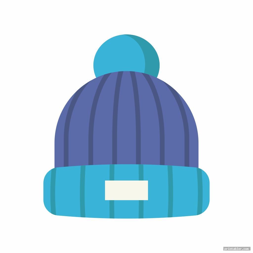 trendy snowman hat template printable