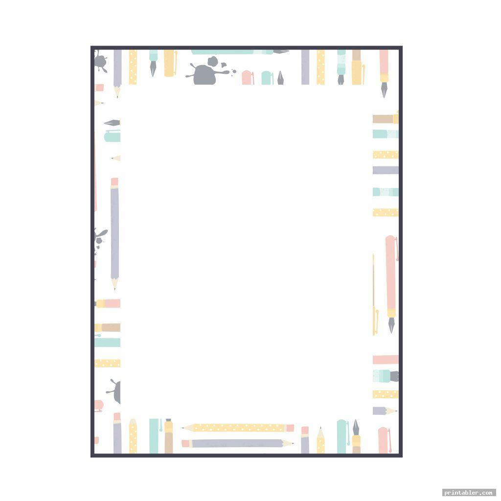 unique printable stationary backgrounds