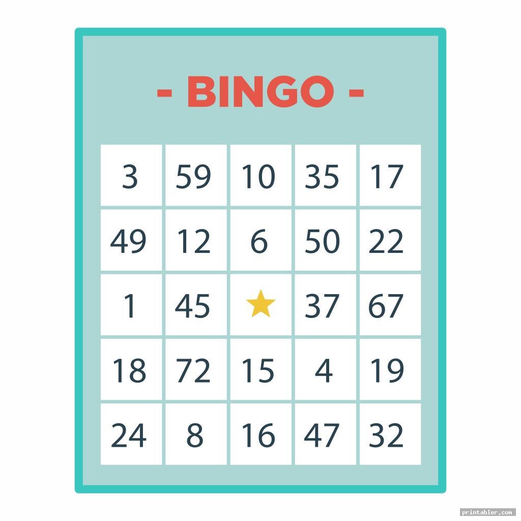 bingo game patterns printable image free