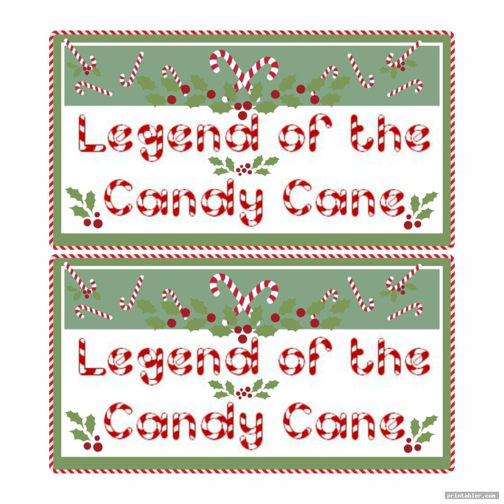candy cane legend printable tags image free