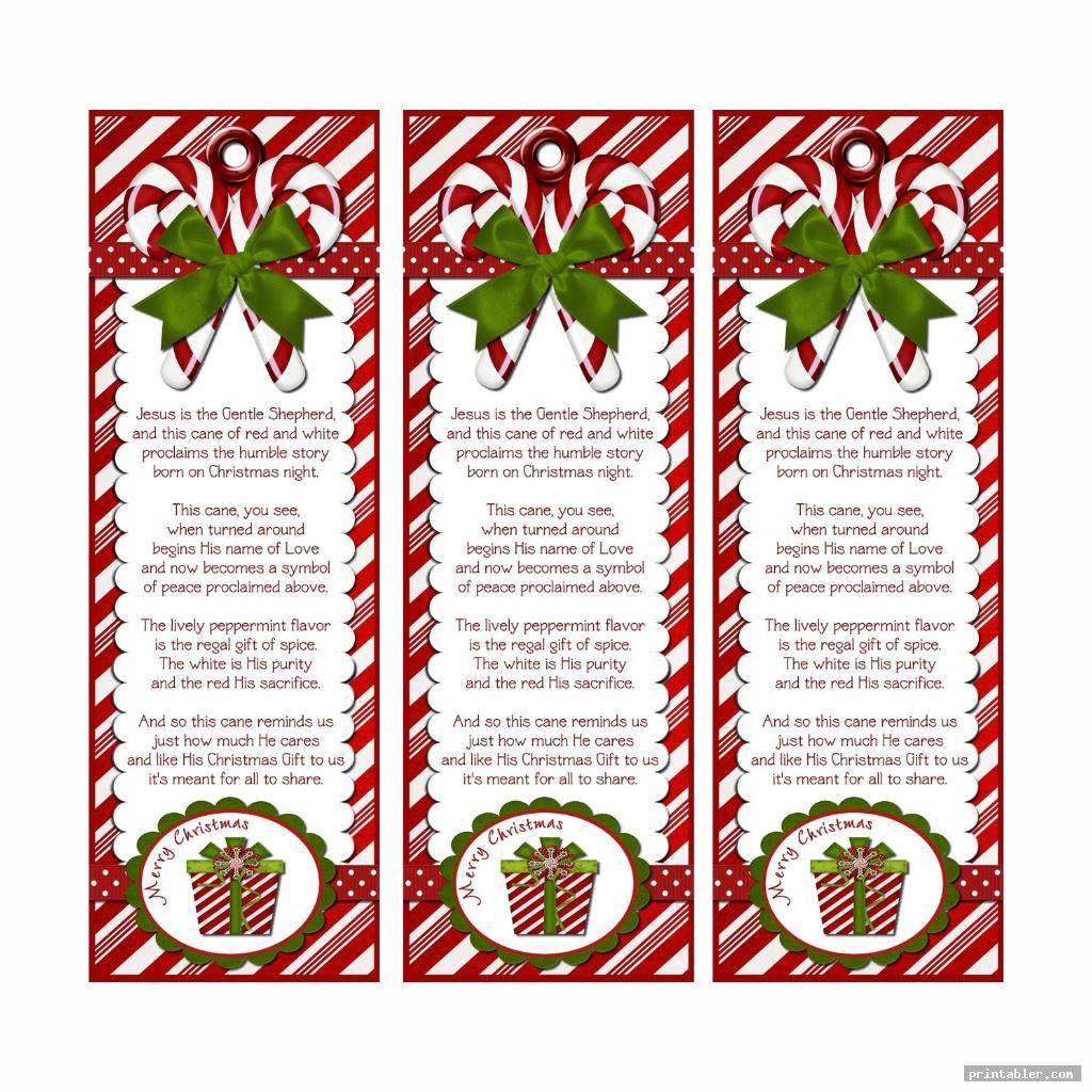 candy cane legend printable tags printable