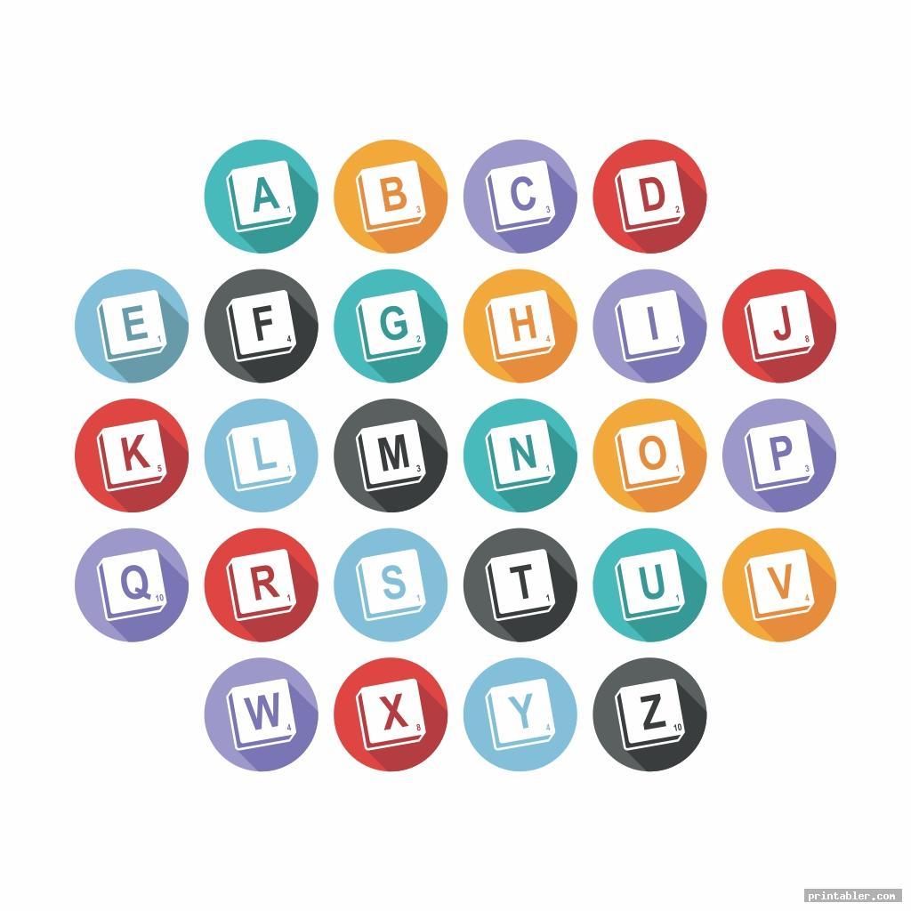 Scrabble Tiles Printable