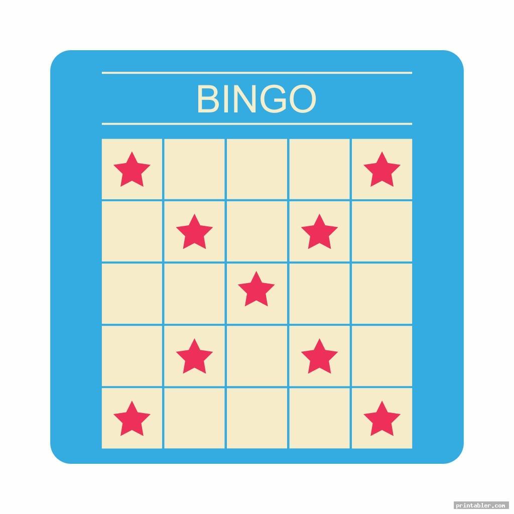 cool bingo game patterns printable