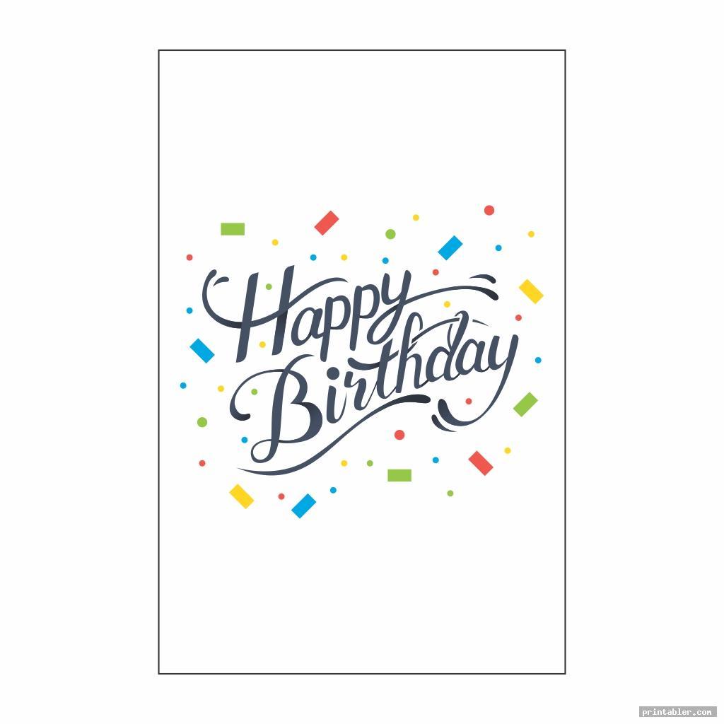 cool happy birthday banner printable