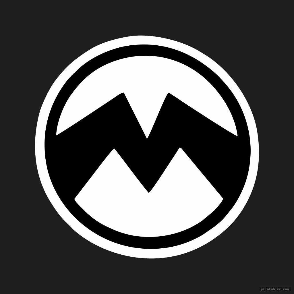 cool minion symbol stencil printable