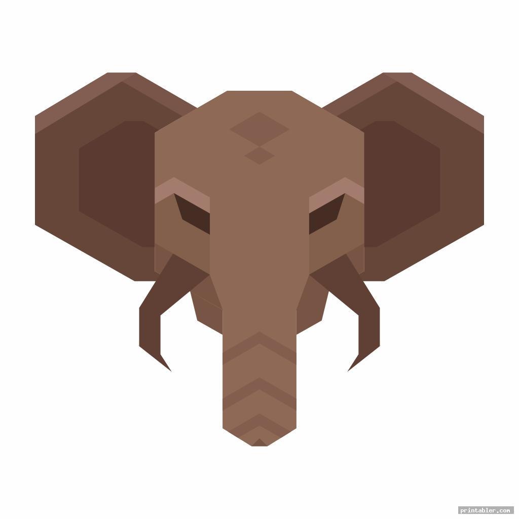 Printable Elephant Trunk
