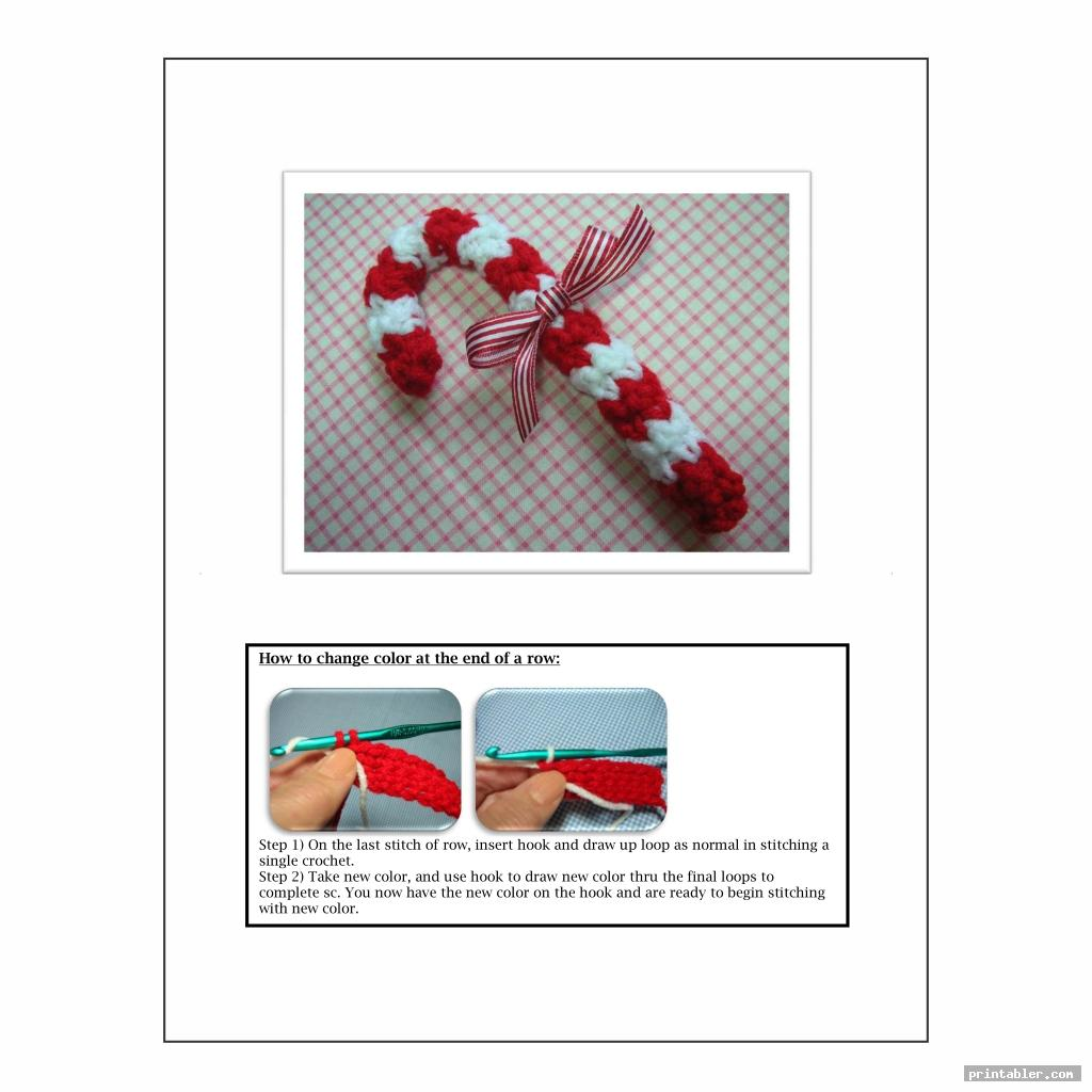 Candy Cane Cover Crochet Patterns