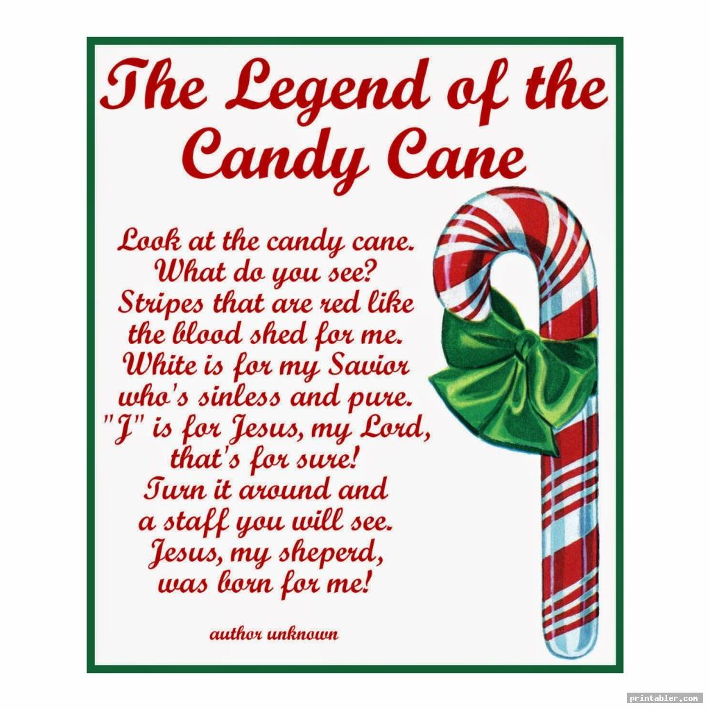 cute candy cane legend printable tags