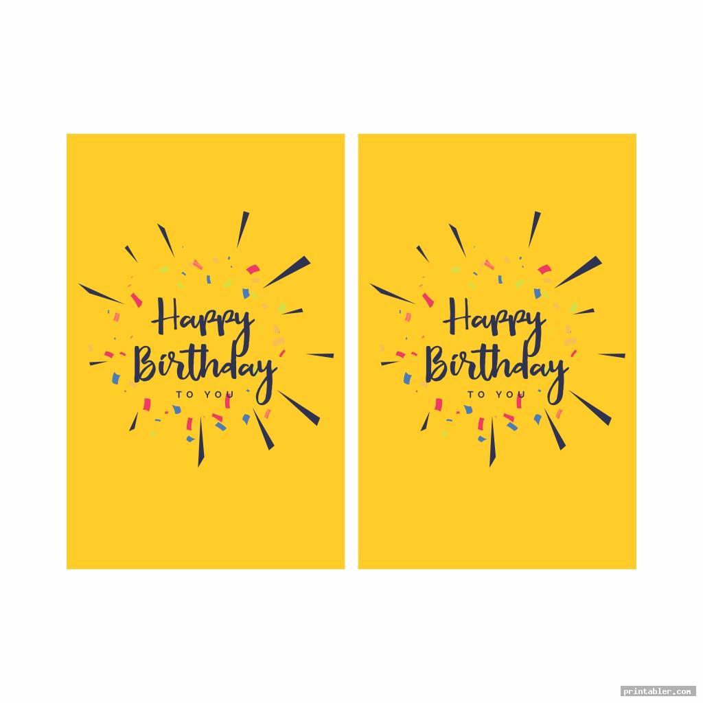 cute happy birthday banner printable