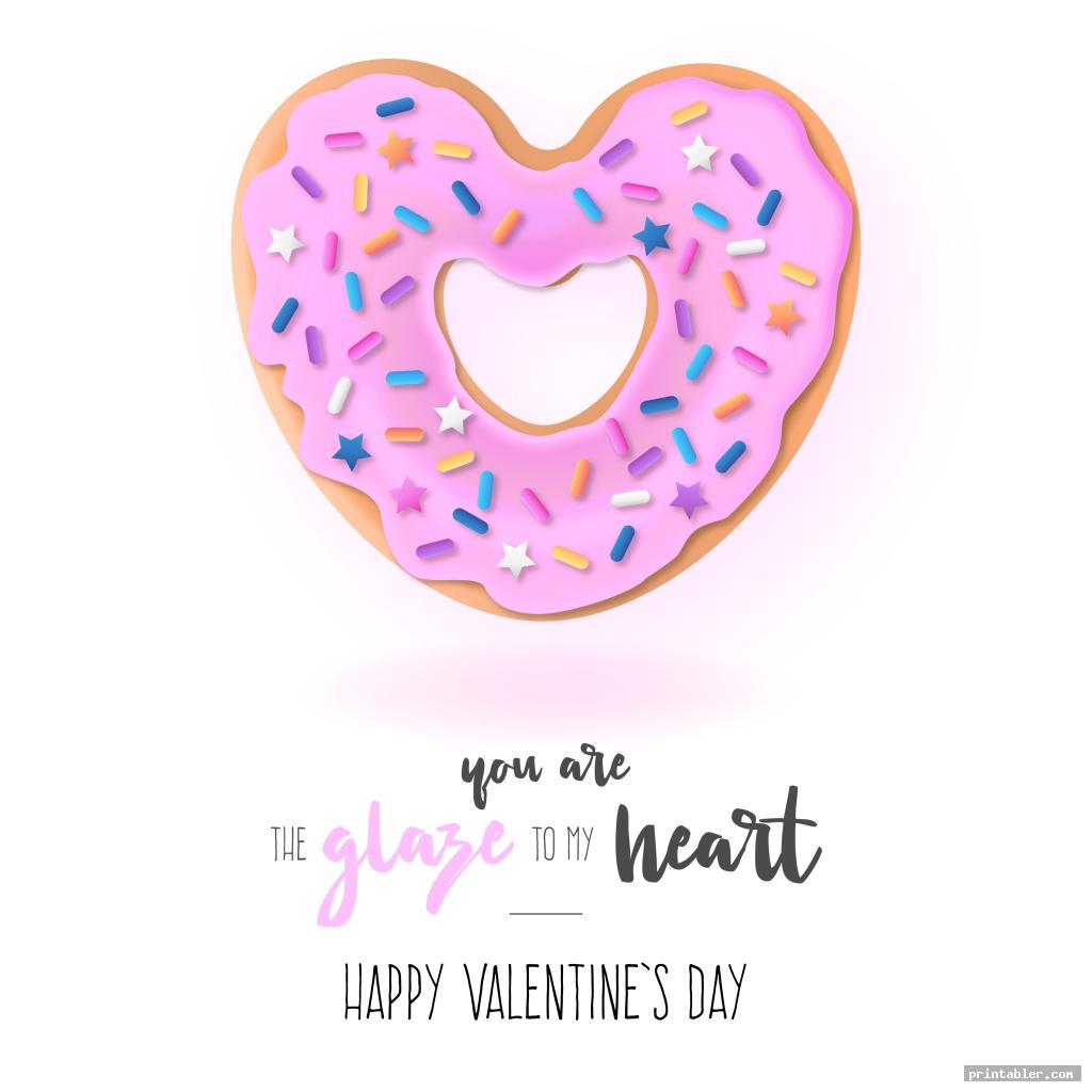 donut funny valentine cards for friends