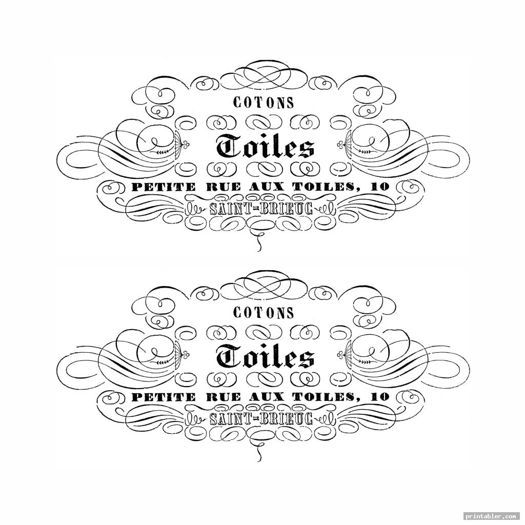 graphics fairy french typography printable image free