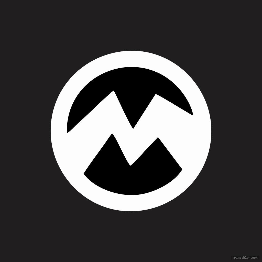 minion symbol stencil printable image free