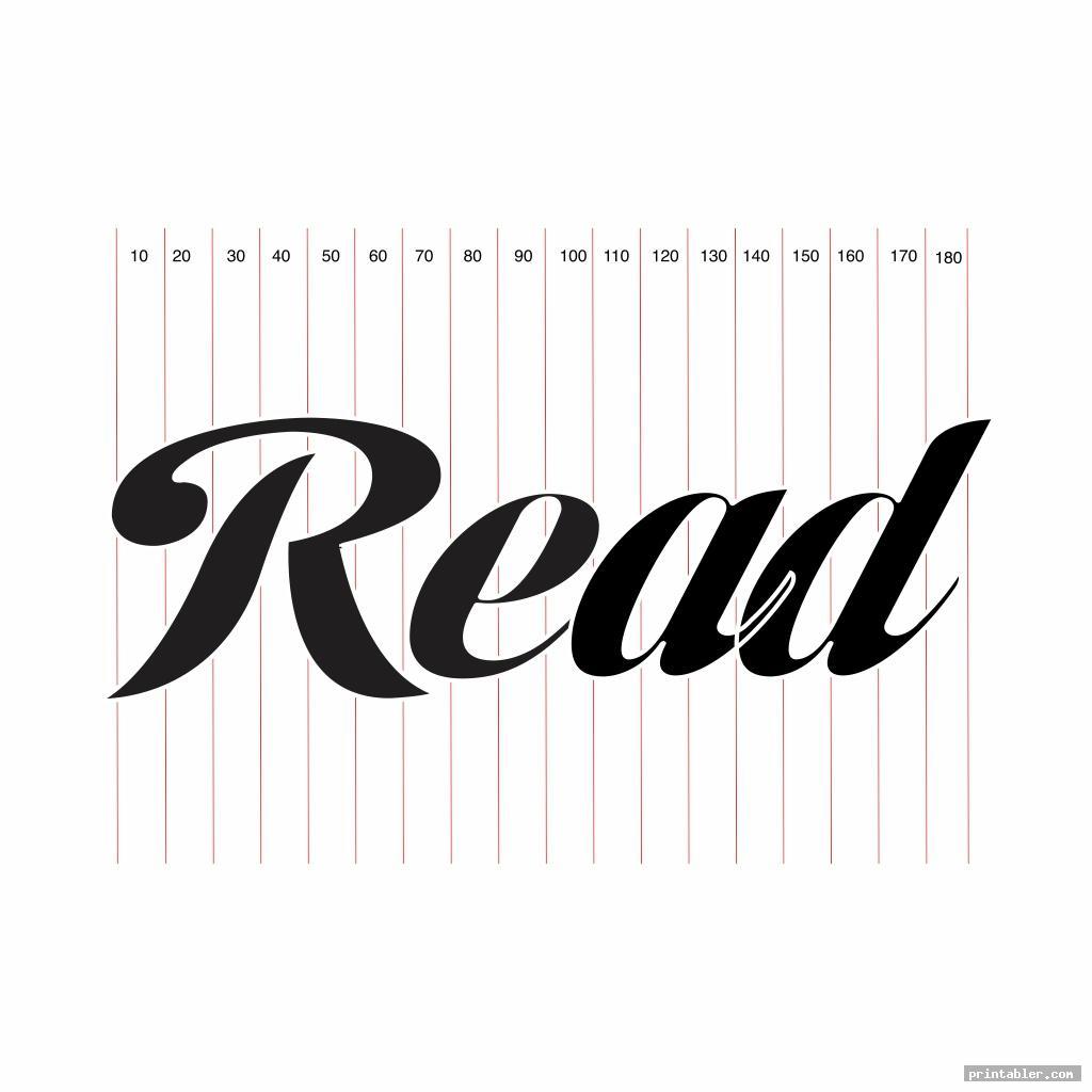 read book folding template printable