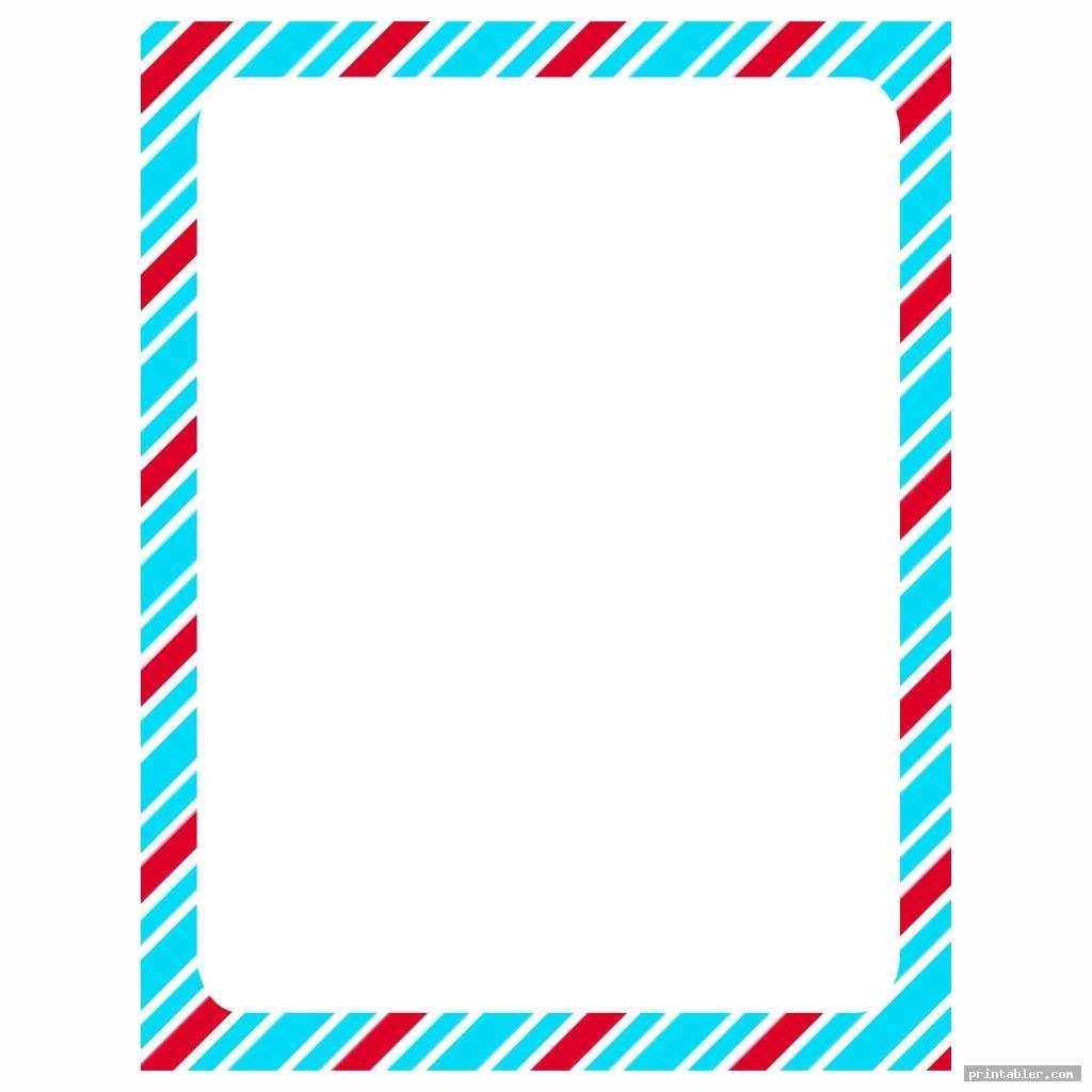 simple dr seuss printable border