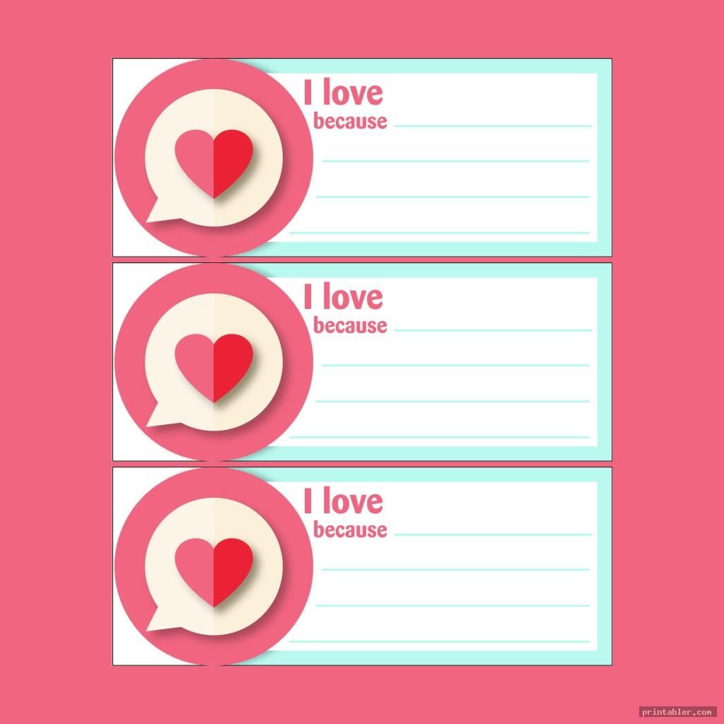 simple printable valentine candy grams