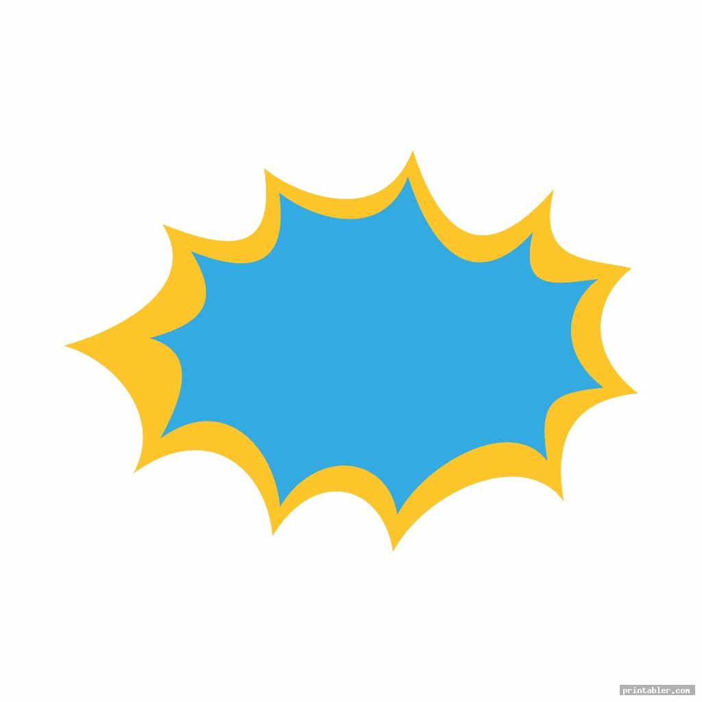 starburst template printable image free