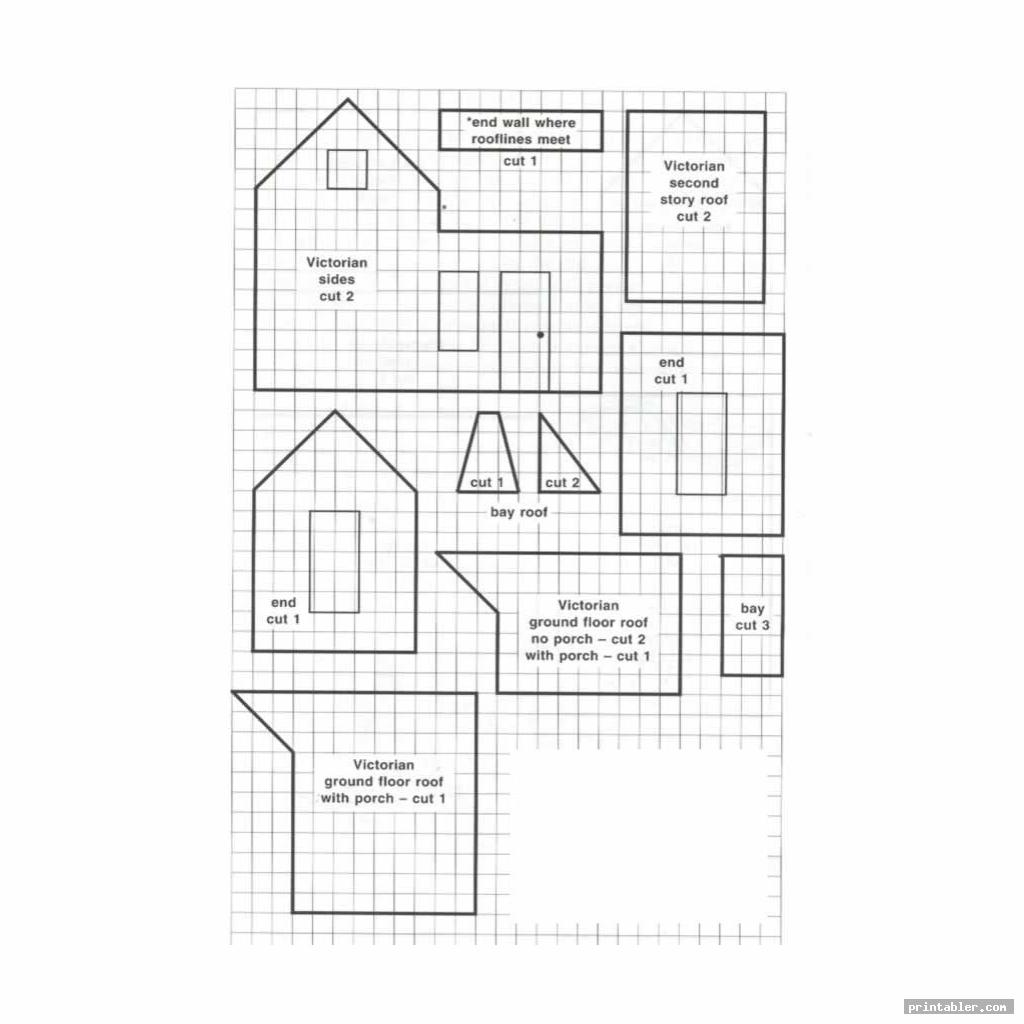 victorian gingerbread house patterns image free