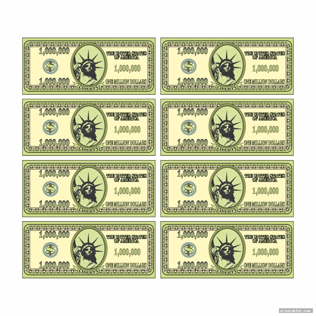Printable Phony Money