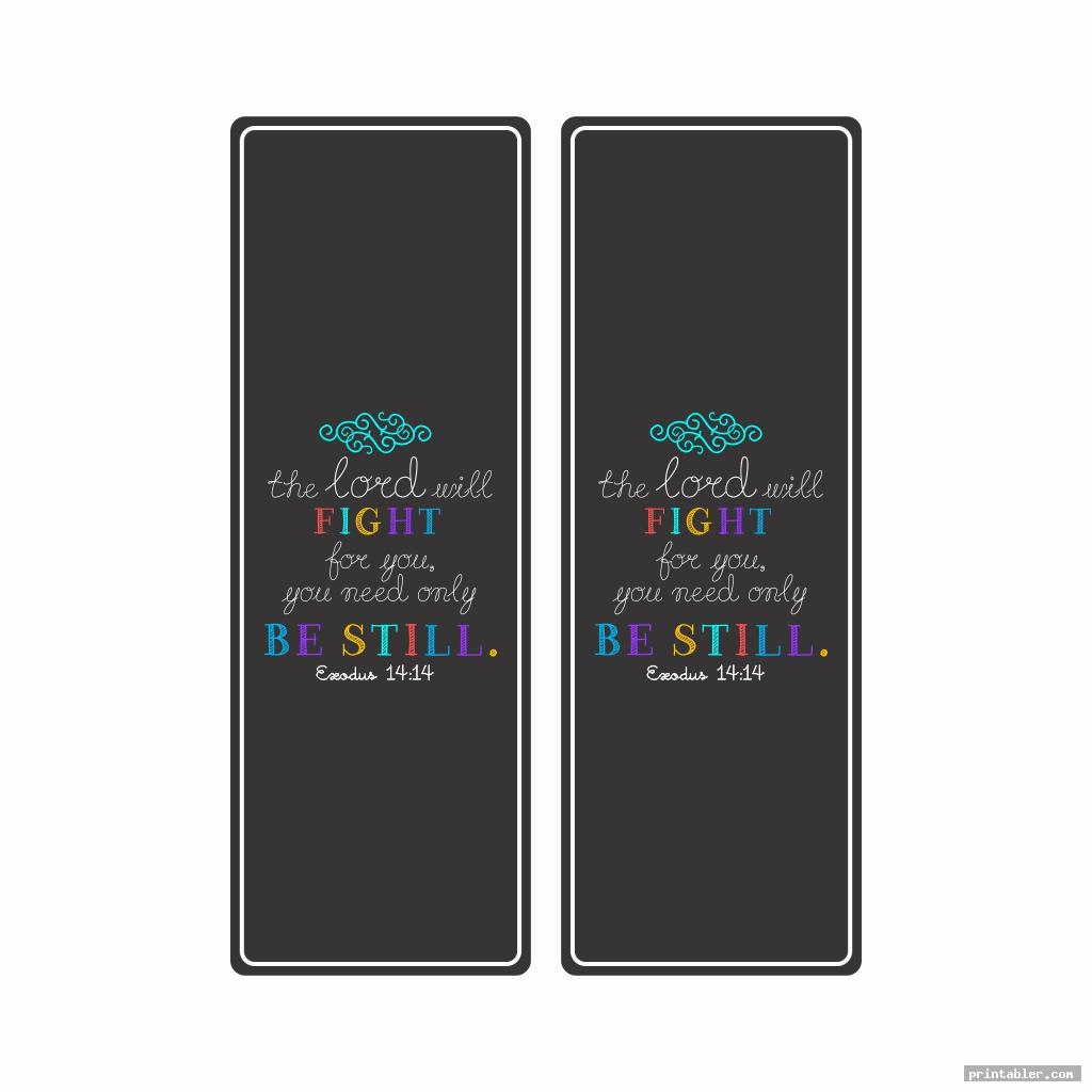 colorful printable bible verse bookmarks