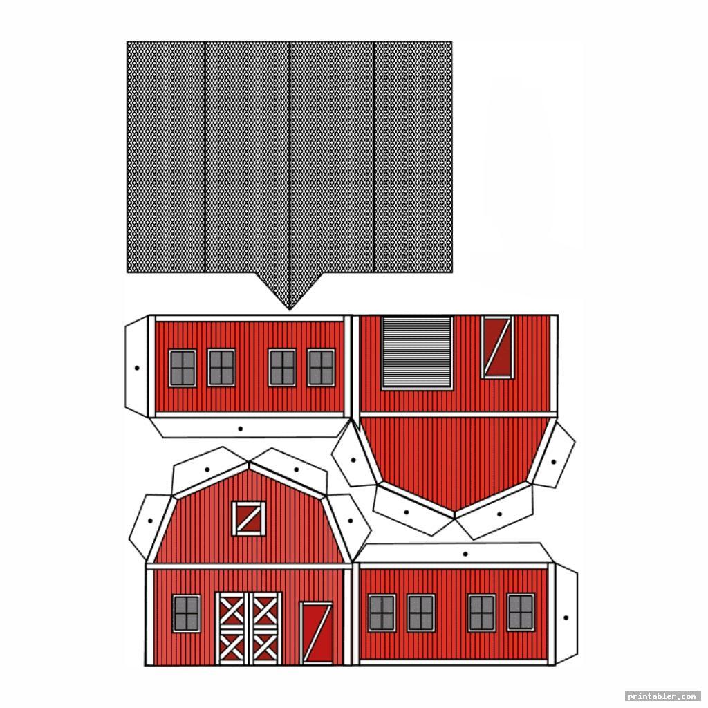 Printable Paper Buildings