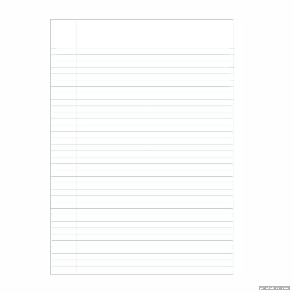 cool printable blank writing pages