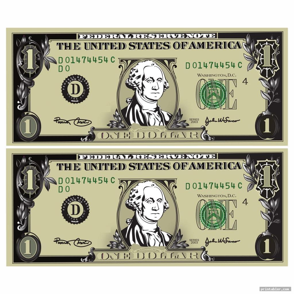 cool printable phony money