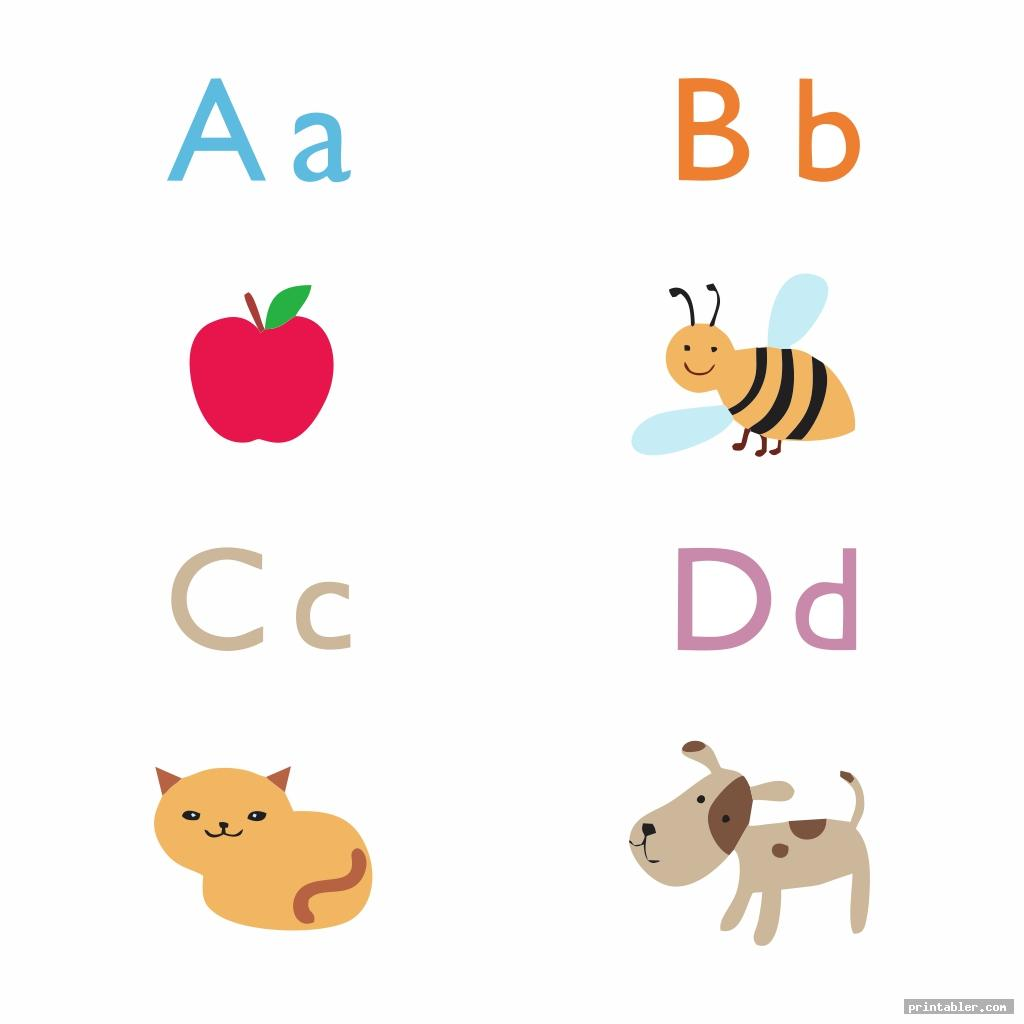 Printable Lower Case Alphabet Flash Cards