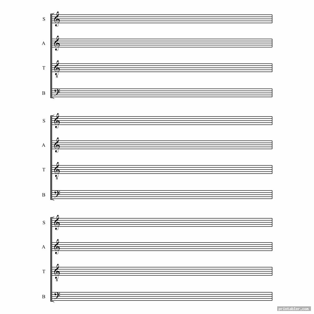 detail printable staff paper blank sheet music
