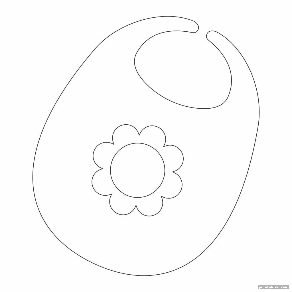 flower printable bib pattern pacifier