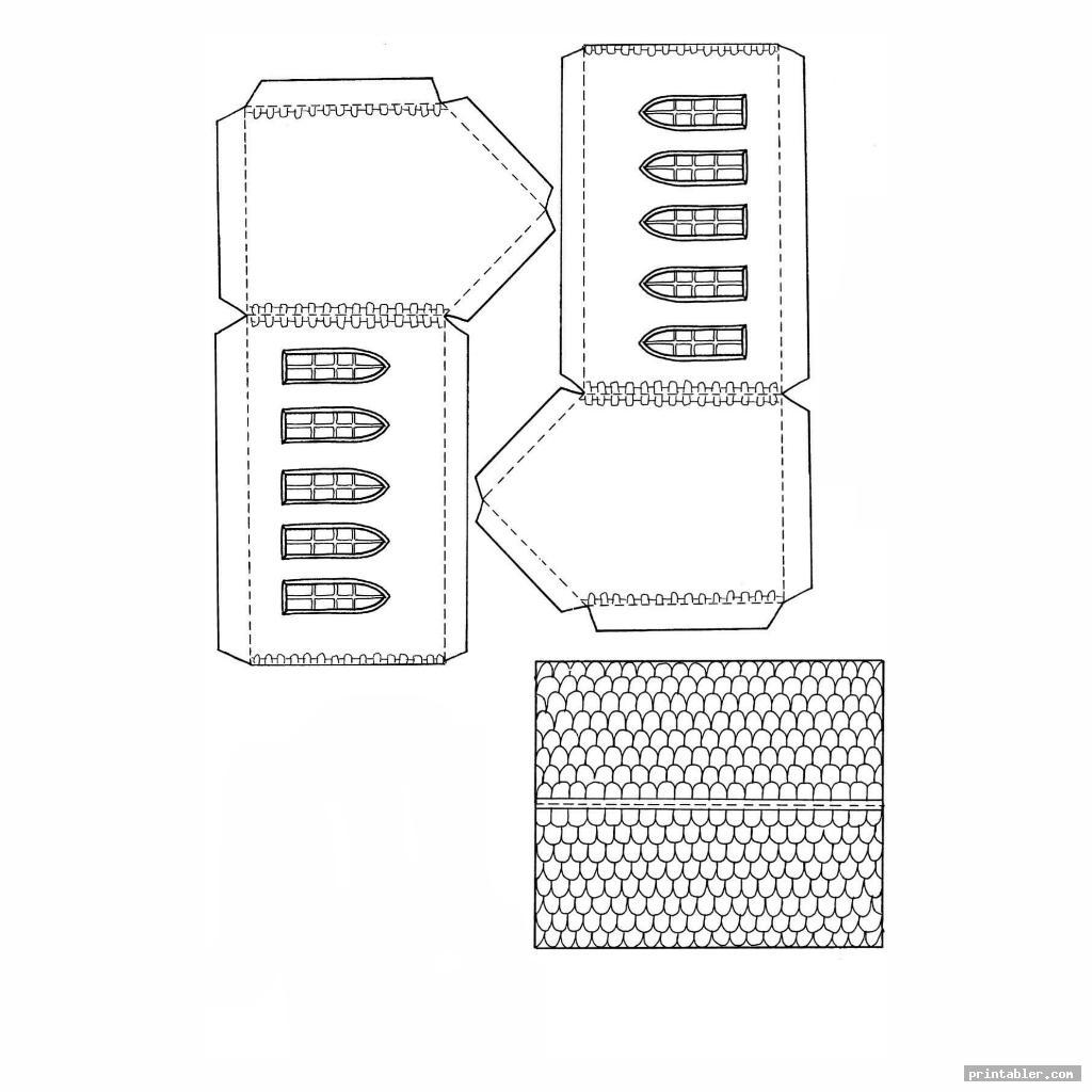 printable paper buildings image free