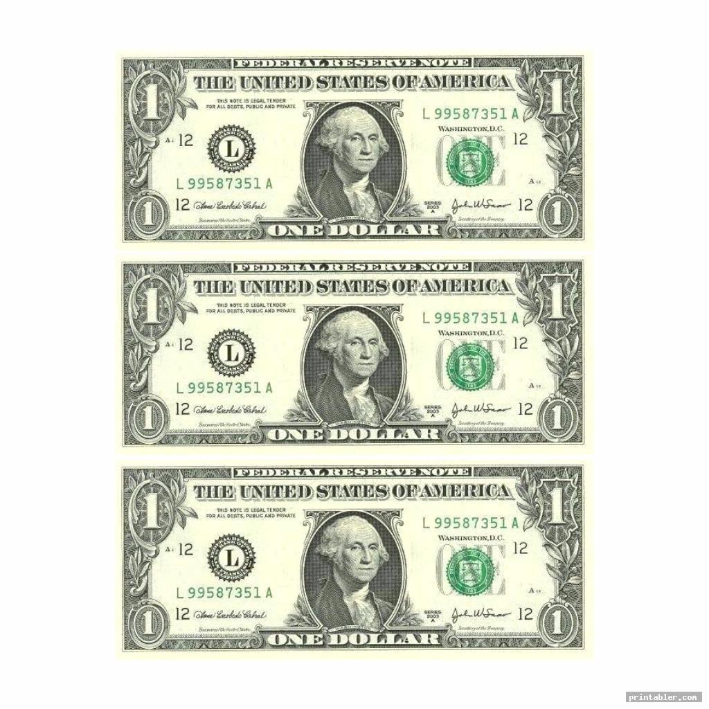realistic printable phony money